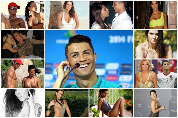cristiano ronaldo all girlfriends list
