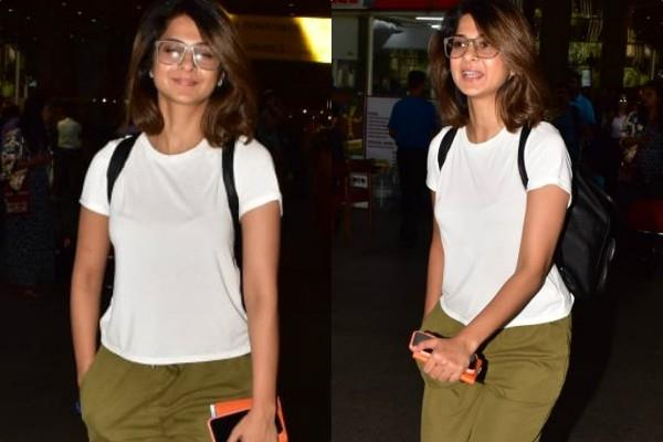 jennifer winget spotted at airport