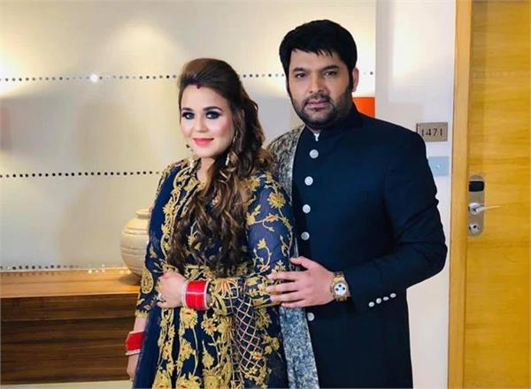 kapil sharma and ginni wedding reception
