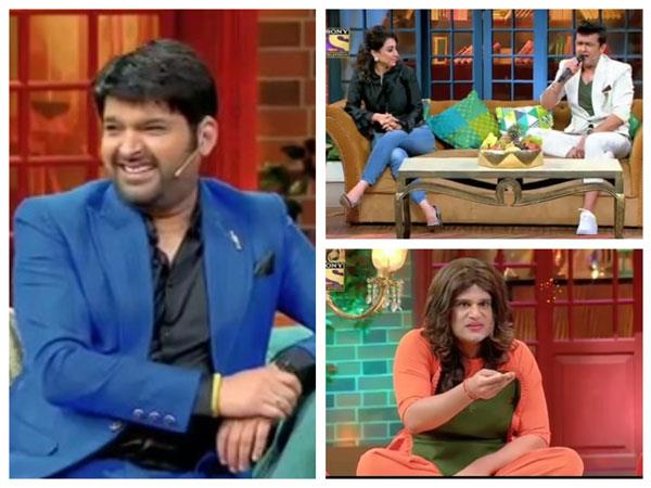 sonu nigam with his wife reached at kapil sharma s show