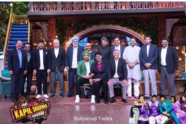 kapil sharma 83 team reached at kapil sharma show