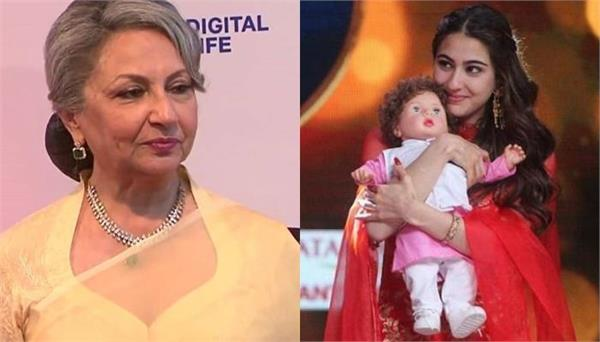sharmila tagore saying about sara ali khan
