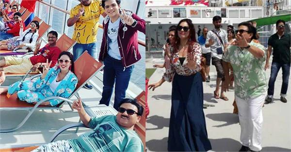taarak mehta ka ooltah chashmah team enjoy holiday in singapore