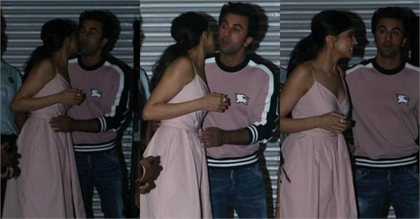 deepika padukone ranbir kapoor kiss and hug pictures viral
