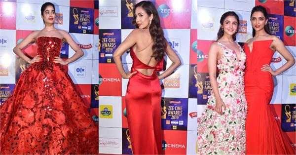 alia bhatt to janhvi kapoor and other celebs arrive in style at awards