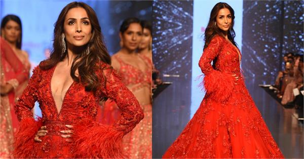 malaika arora glamorous look at bombay times fashion week day 3