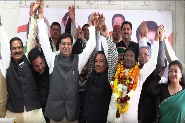 dhani lal shah return in congress
