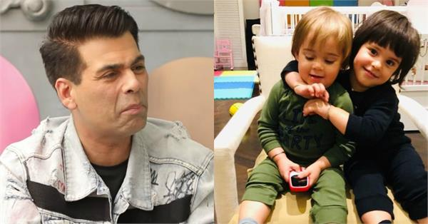 karan johar worry about their children