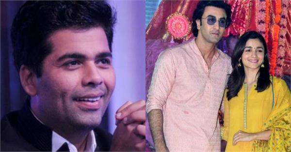 karan johar reveal about ranbir kapoor alia bhatt wedding