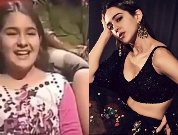 sara ali khan childhood video viral