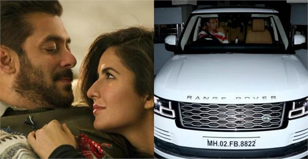 salman khan gift a luxury car to katrina kaif
