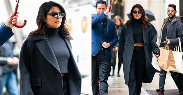 priyanka chopra spotted in new york city