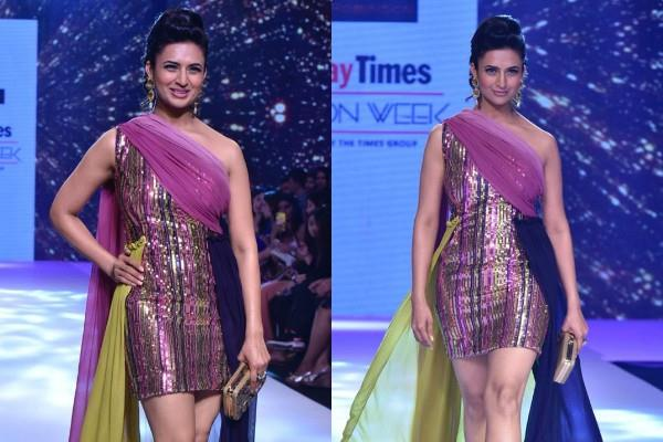 divyanka tripathi ramp walk pictures