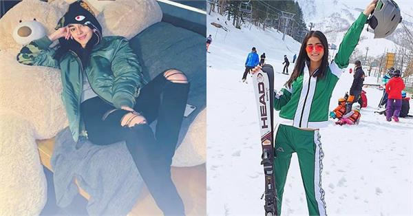 ananya pandey enjoying holiday in japan