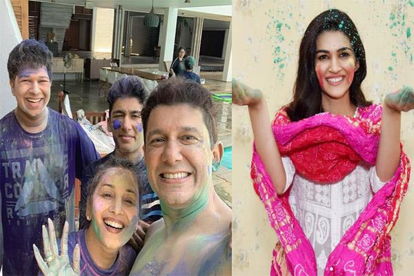 celebs holi photos and news