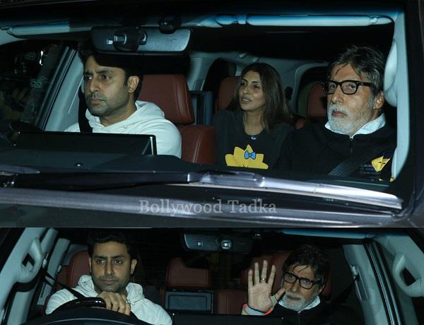 amitabh bachchan at badla screening