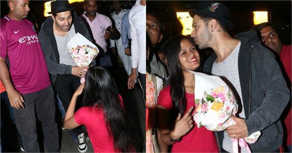 fan proposes varun dhawan