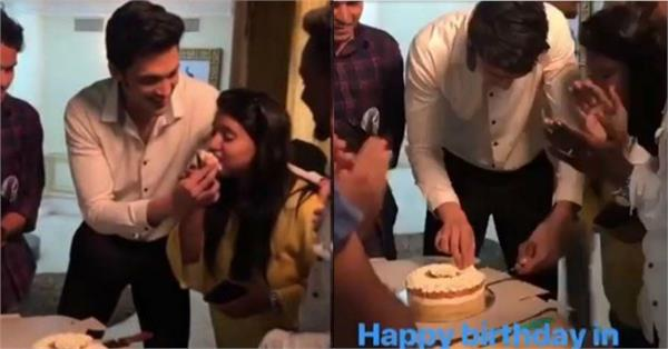 parth samthaan pre birthday celebration at kasautii zindagii kay set