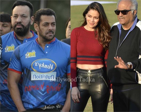 bolywood stars at celebrity cricket league