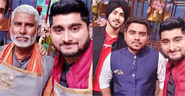 deepak thakur makes his tv comeback with father