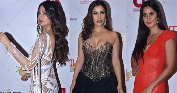 bollywood stars at hello hall of fame awards 2019
