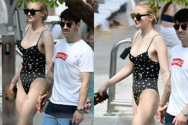 sophie turner joe jonas enjoys miami