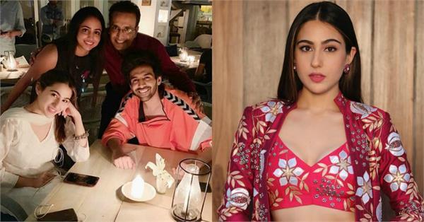 sara ali khan spotted at dinner date with kartik aryan
