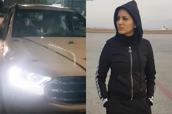 sapna choudhary buy new car