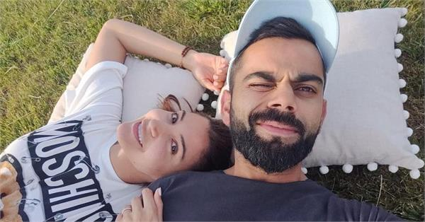 anushka sharma share romantic picture with hubby virat kohli