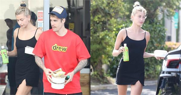 justin bieber hailey baldwin casual cool pictures