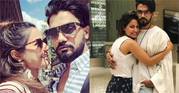 hina khan and her boyfriend rocky jaiswal are not participating in nach baliye 9