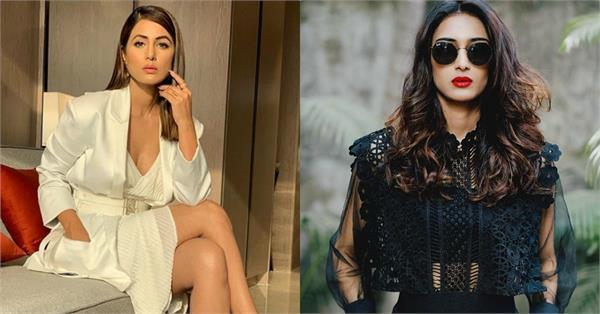 hina khan refused reports of cold war with erica
