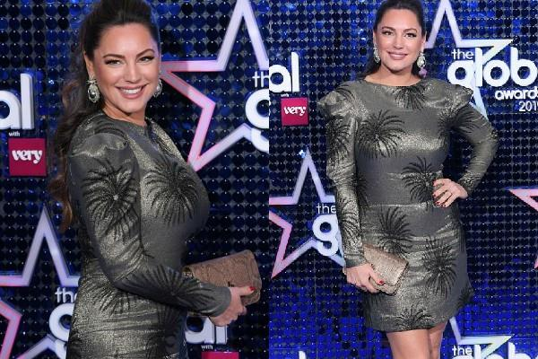 kelly brook attend global awards 2019