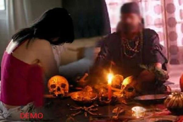 baba did rape with the girl on the pretext of throwing ghost