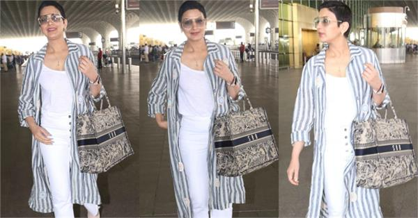 sonali bendre spotted at airport