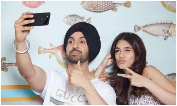 diljit dosanjh and kriti sanon movie arjun patiala will release in 19 july