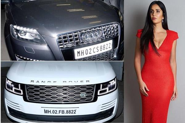 katrina kaif has added to her luxury car collection with a brand new range rover