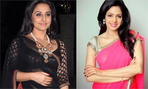 vidya balan want to work in shridevi s biopic