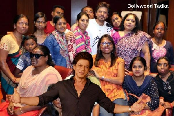 shahrukh khan do this work for acid attack victims