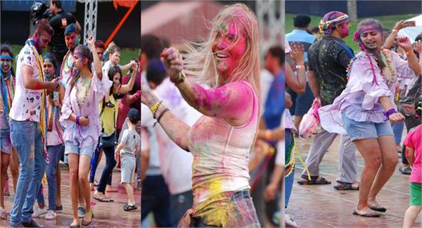 grand holi celebrations in dubai on bollywood tracks