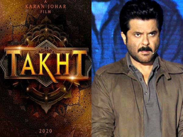 anil kapoor saying about his movie takht