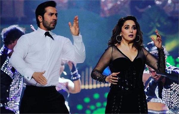 varun dhawan saying about madhuri dixit dance