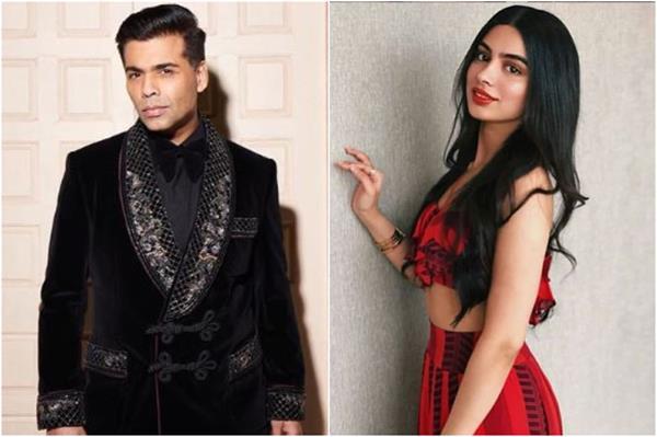 khushi kapoor want to work in karan johar film