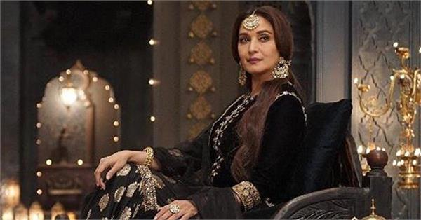 madhuri dixit share kalank new look