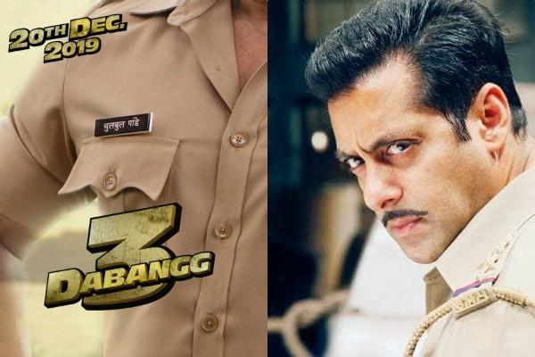 salman khan starrer film dabangg 3 first poster release