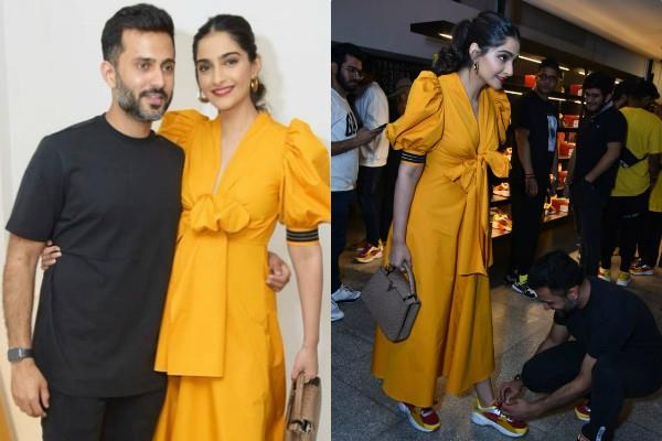 anand ahuja ties laces for wife sonam kapoor