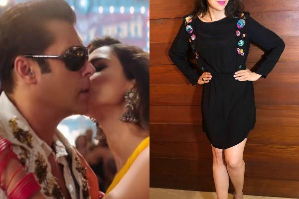before disha patani this actress break salman khan no kissing policy