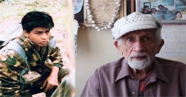 shahrukh khan fauji director colonel raj kumar kapoor passes away