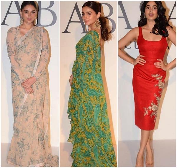 20 years of sabyasachi alia bhatt janhvi kapoor stun at designer fashion show
