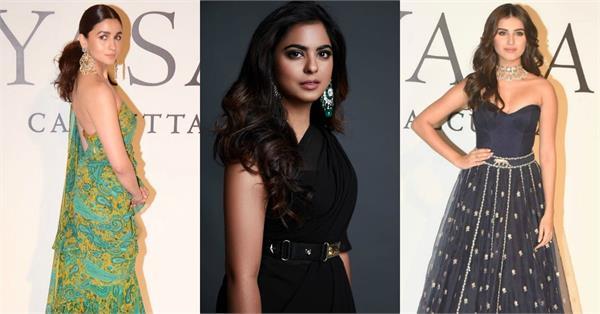 alia janhvi and many stars at celebration of 20 year of designer sabyasachi